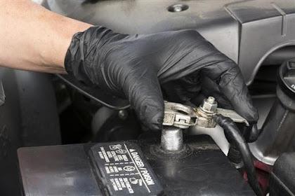 Corrosion du terminal de batterie