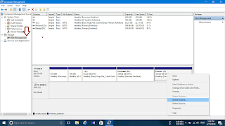 hard disk partition in windows 8