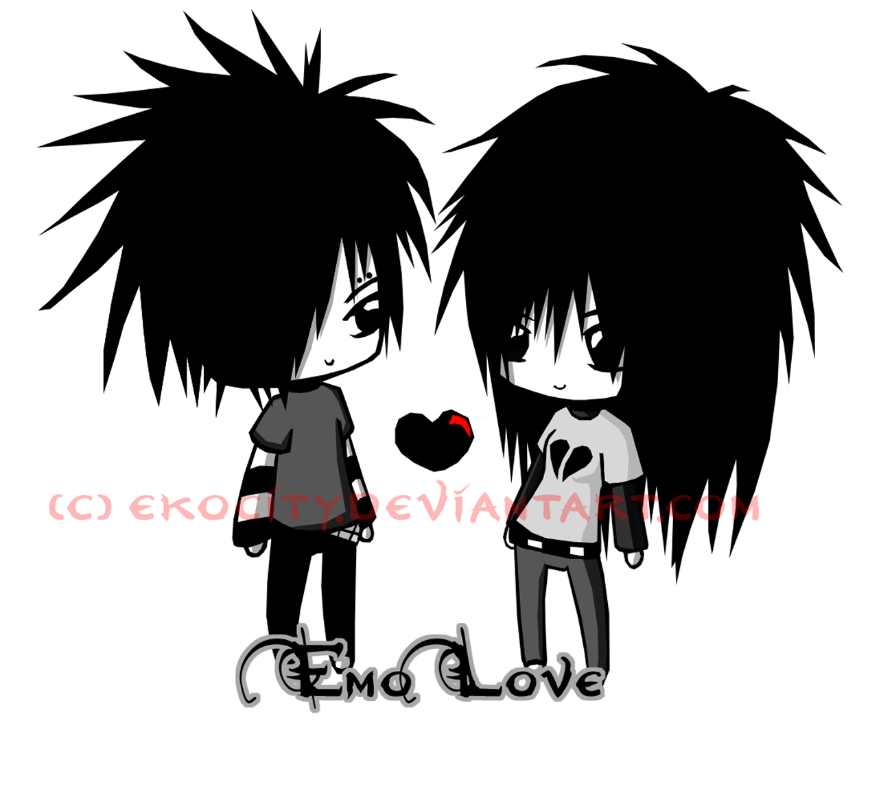 Images Of Emo Anime Couples Wallpaper Calto