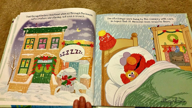 Put Me In The Story Twas The Night Before Christmas on Sesame Street