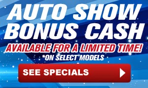 Rochester Auto Show Bonus Cash Available Now for a Limited Time at Hoselton Auto Mall in East Rochester, NY!