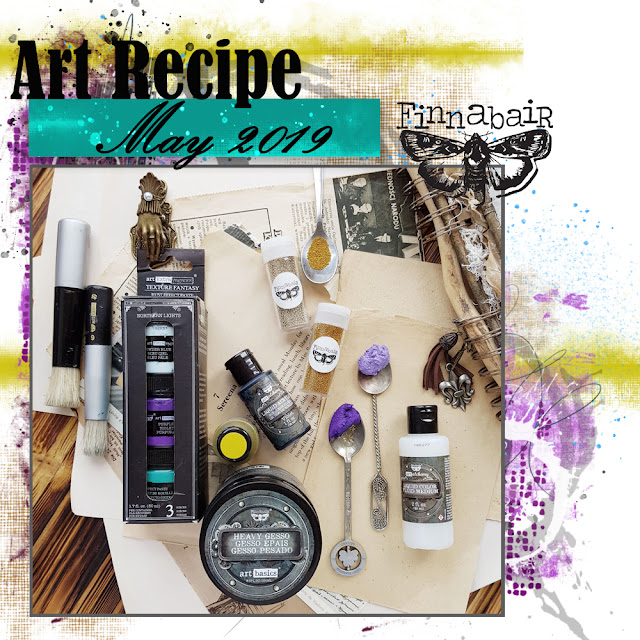 Art Recipe - May 2019