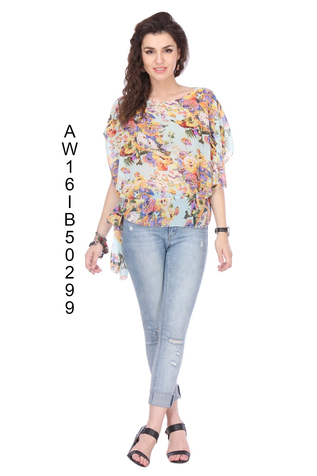 Georgette Western Tops – New Fancy And Stylish Top