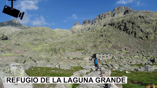 Webcam en la Laguna Grande en la Sierra de Gredos