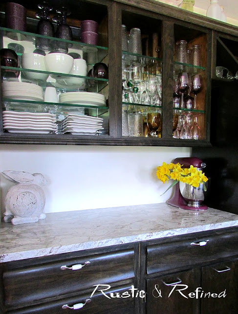 Kitchen tour with ebony stained kitchen cabinetry