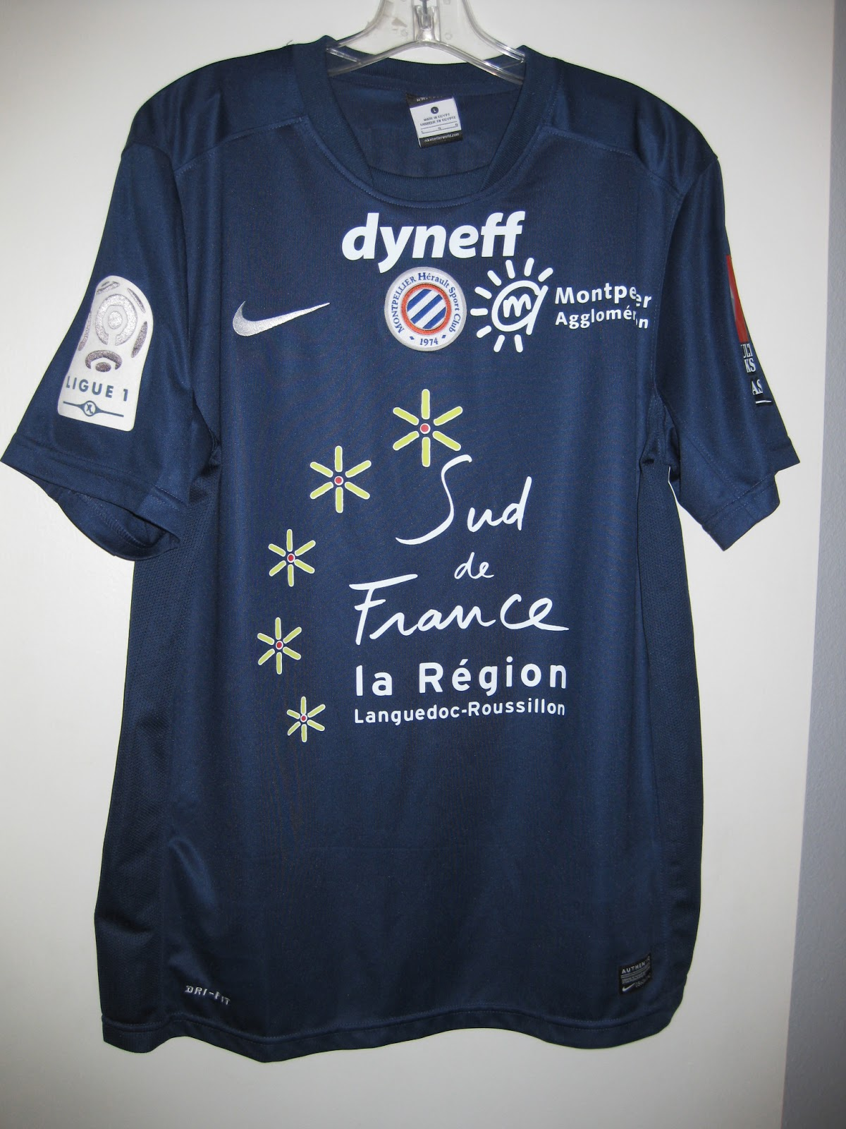 d240b91e941 Chris s Soccer Jersey Collection  2011-12 Montpellier HSC Olivier ...