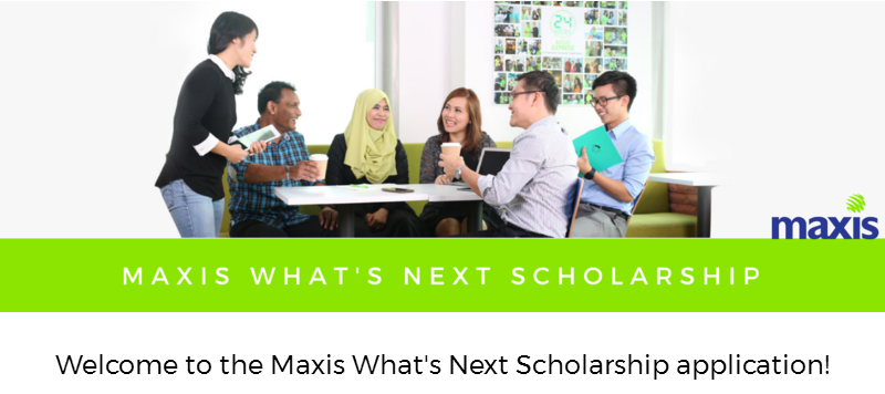 maxis scholarship (biasiswa maxis) for foreign / local university