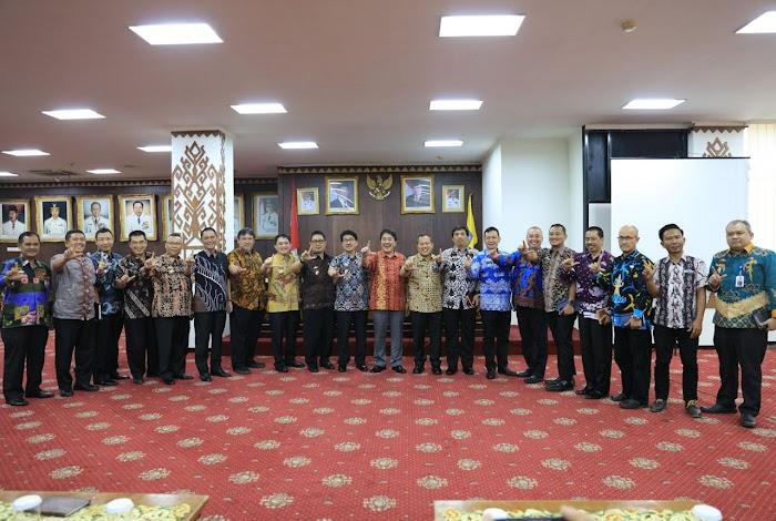 Pemprov  Dampingi KPK dalam Rakor Dinas PUPR Lampung