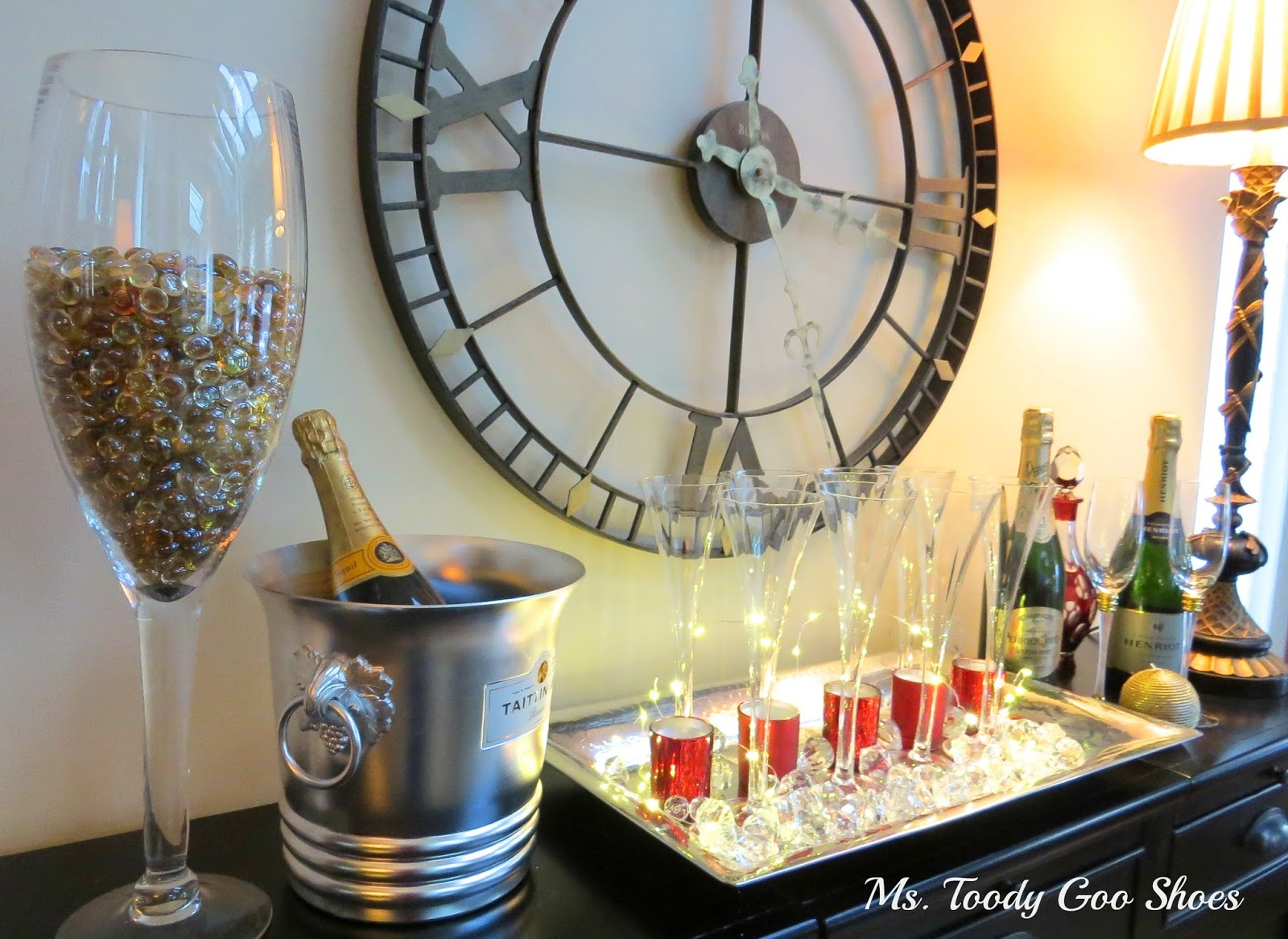 A Bubbly New Year's Eve