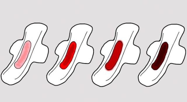 Ini 6 Warna Darah Haid Yang Sebenarnya Mempunyai Maksud Tentang Tahap Kesihatan Anda. Wanita WAJIB TAHU !!!