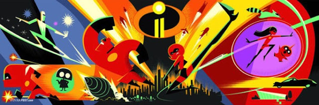 Incredibles 2 concept artwork