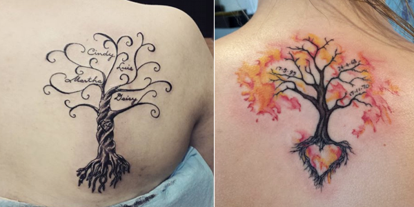 Mytattooland Com Family Tree Tattoos