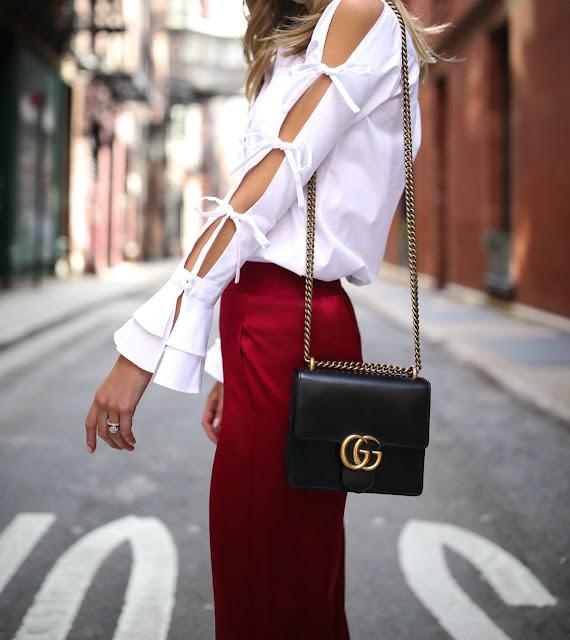 porady stylisty, biała koszula, bluzka, trendy, must have, must have sezonu, olivia palermo