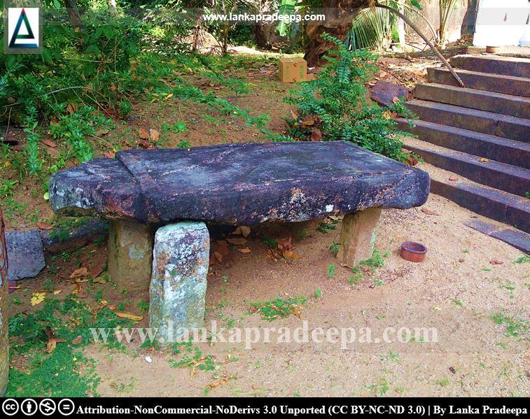 A stone artifact