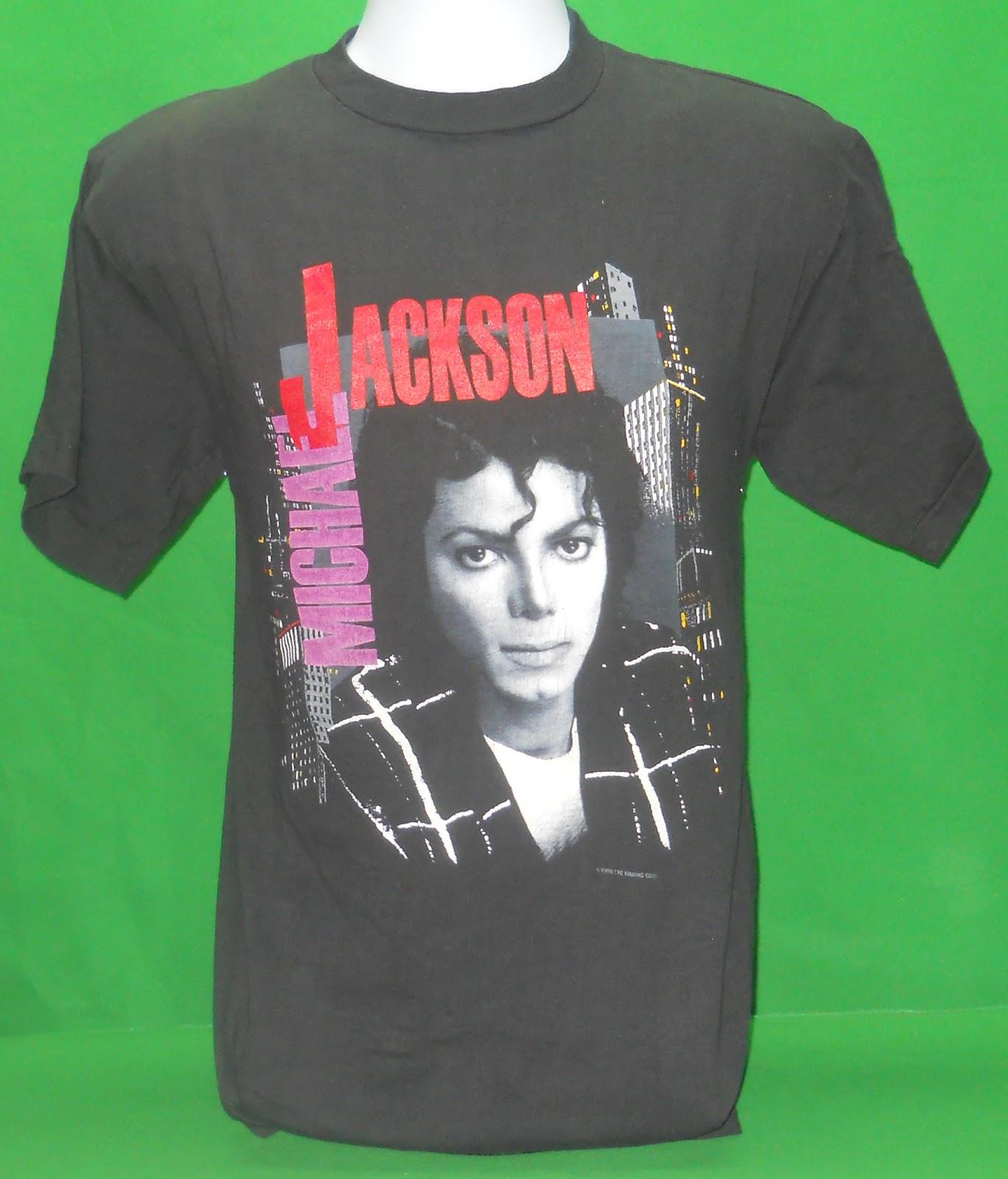 The Voodoo Vintage: 1988 Michael Jackson Bad Concert Tour Tee