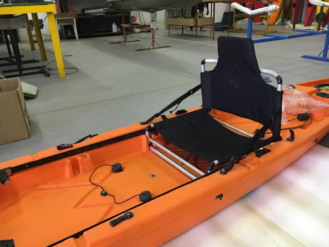 Kraken Kayak with seat