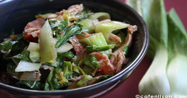 Bokchoy Stir Fry (Ginisang Pechay ) Recipe