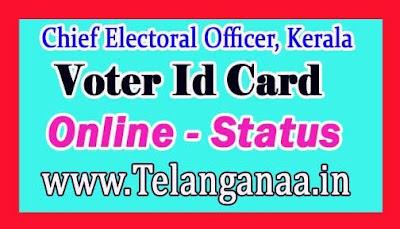 Voter Id Online Status in kerala