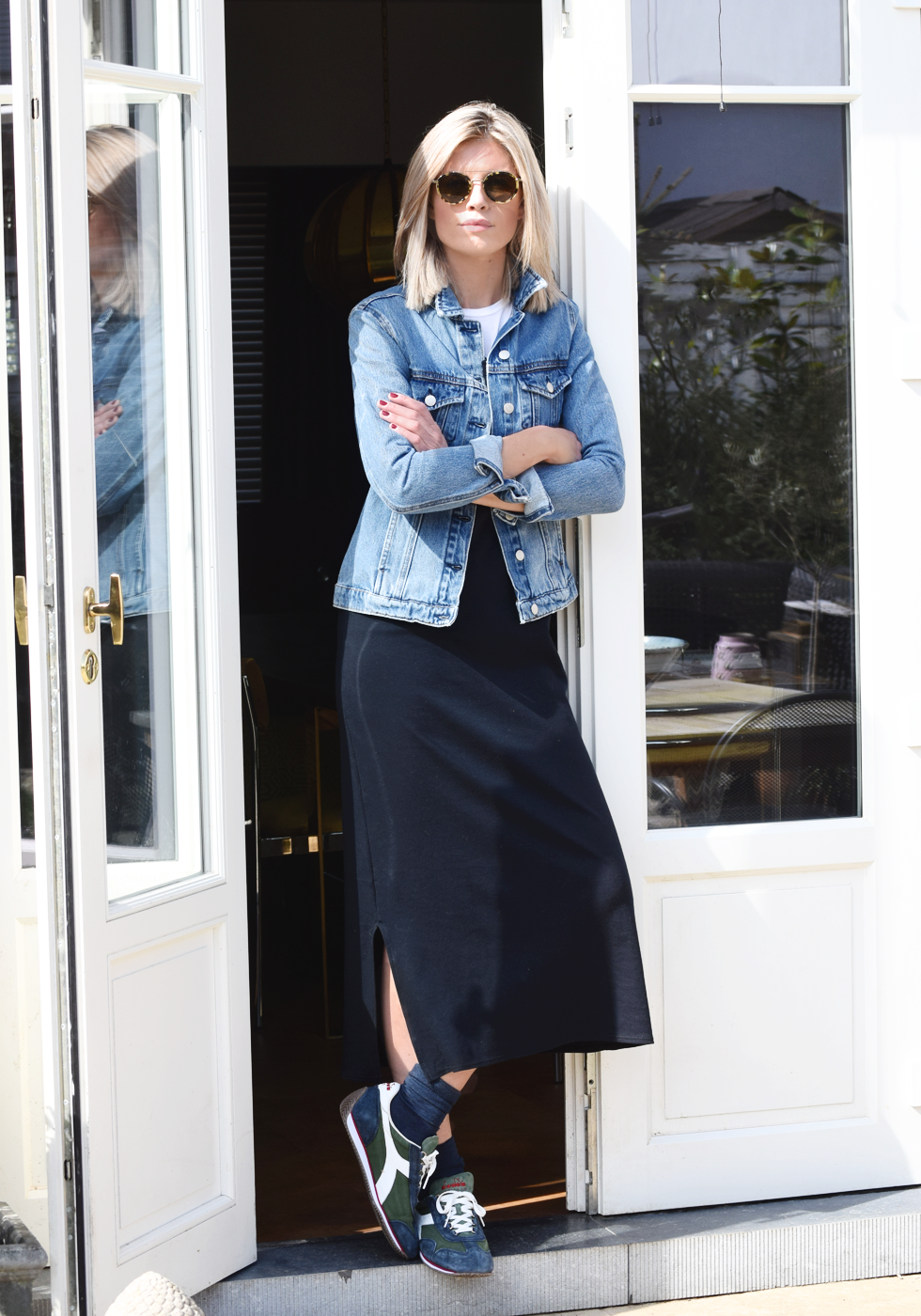 MbyM, Outfit of the day, Diadora, Made & More, Falke, Céline, Dewolf, ootd, style, fashion, blogger
