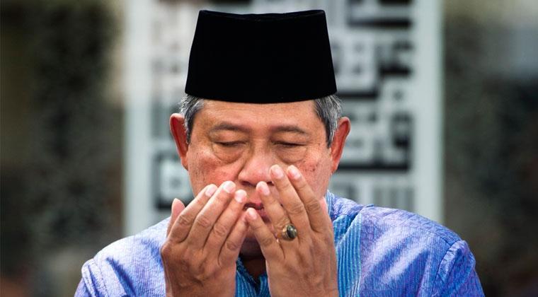 SBY berdoa