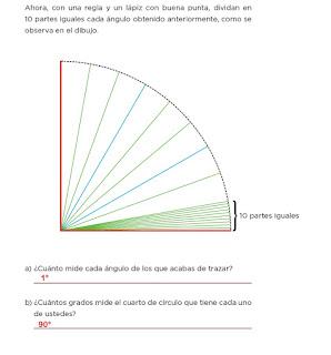 Respuestas Apoyo Primaria Desafíos Matemáticos 4to. Grado Bloque II Lección 39 Pequeños giros