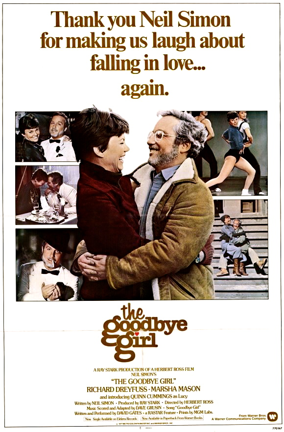 Every 70s Movie The Goodbye Girl 1977