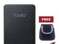 Spesifikasi dan Harga Hardisk External Hitachi Touro Mobile 1TB