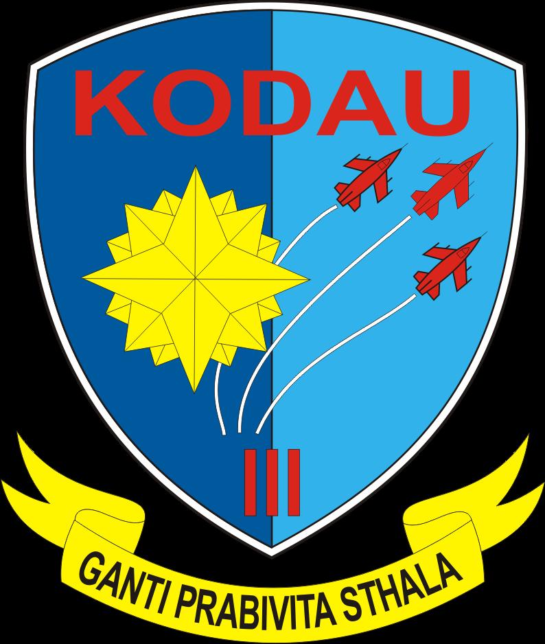 Logo Vector Komando Daerah Udara ( KODAU) 1