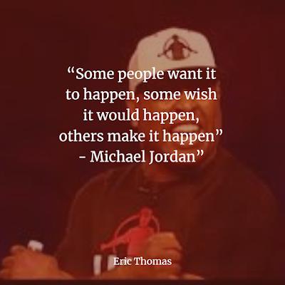 Eric Thomas Inspirational Quotes