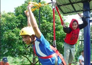 Flying Fox Wisata Agro Selopajang Timur (WAST) Blado Batang