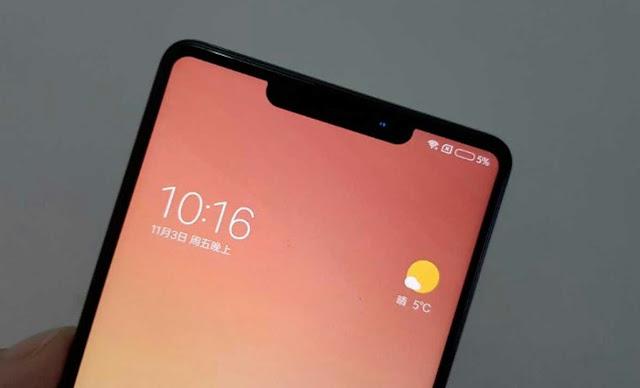 HP Xiaomi Mi 7 Layar Notch