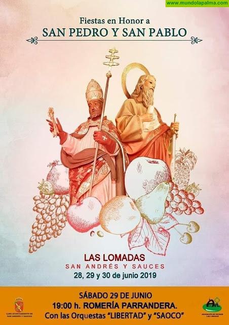 Fiesta en Honor a San Pedro y San Pablo Las Lomadas