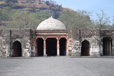 Jami Masjid at Devagiri built by Qutb-ud-din Mubarak Khilji