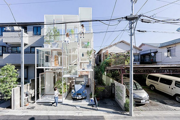 Transparent House, Japan, Bizarre Homes