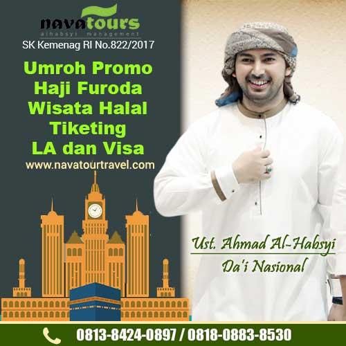 umroh nava tour bekasi resmi milik ust ahmad alhabsyi