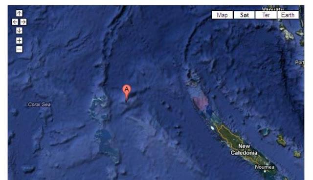SERAM! Keanehan Misteri Pulau Hantu Di Lautan Pasifik