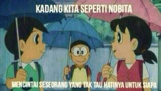kata kata cinta nobita