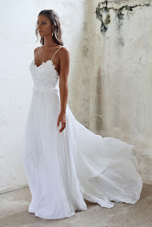 beach summer bridal