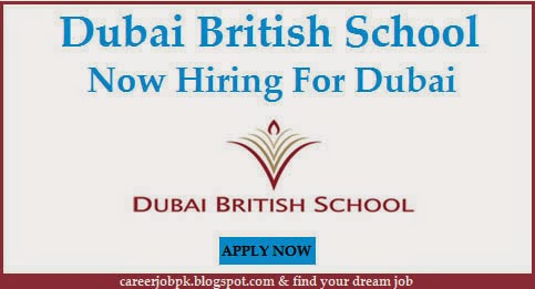 Dubai British School Jobs in Dubai