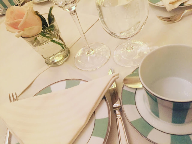 London, England, Bernardaud China, Claridges