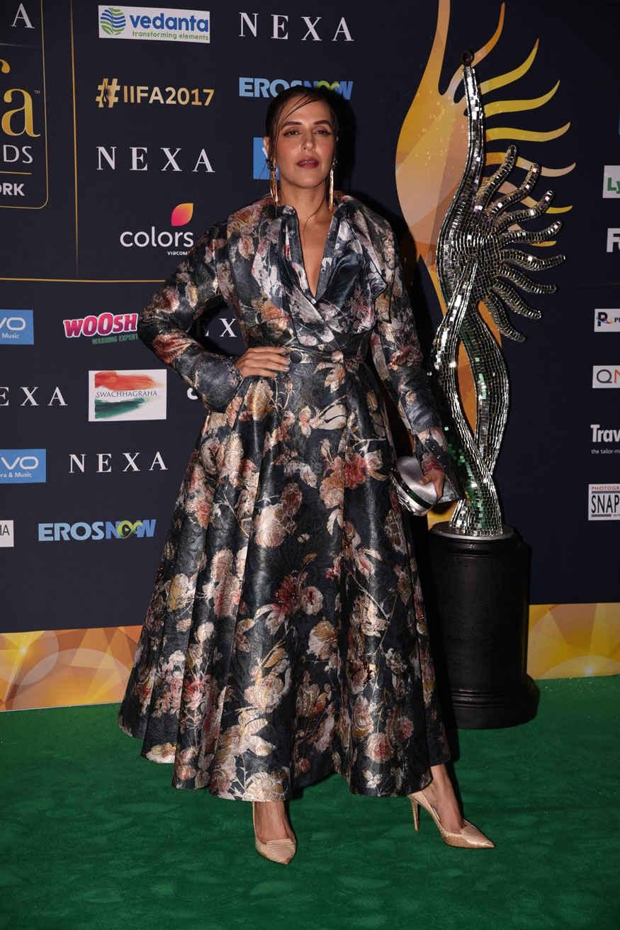 Neha Dhupia Arrives at The 2017 IIFA Rocks at MetLife Stadium