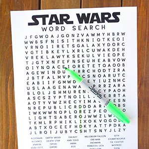 Star Wars Word Search