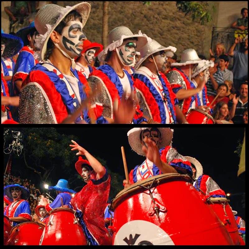 Carnaval. Desfile de Llamadas, Kilombo. 2010.