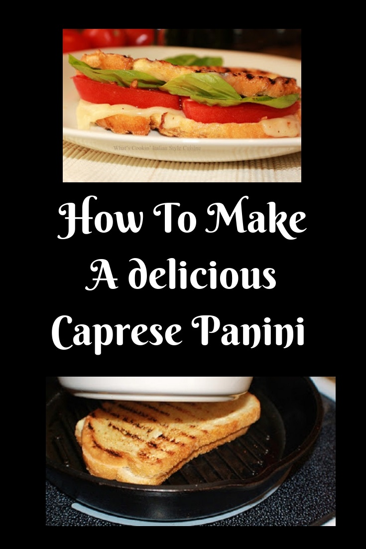 this is how to make a panini without the panini maker. This is a sandwich with tomato, lettuce and delicious melted cheese in it using a cast iron skillet.