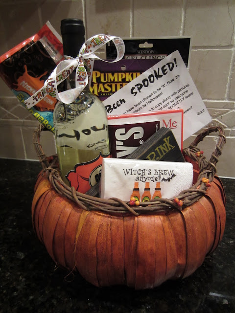 Goodie Basket - How to Spook your neighbors