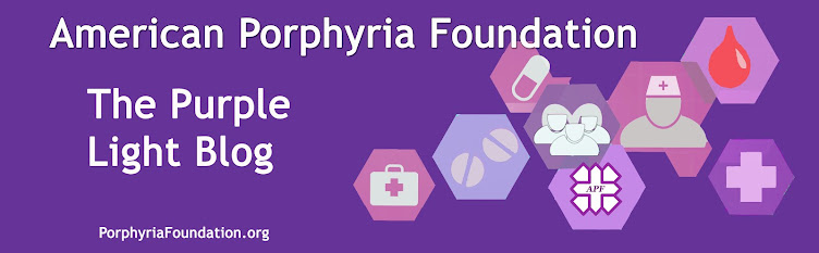 American Porphyria Foundation Purple Light Blog