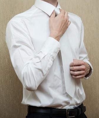 kemeja pria lengan panjang slim fit