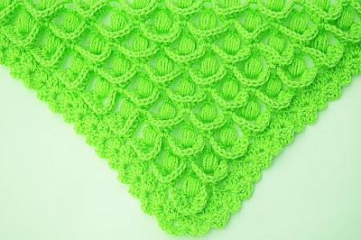 4 - Crochet IMAGEN Punto para chal muy fácil y sencillo. MAJOVEL CROCHET
