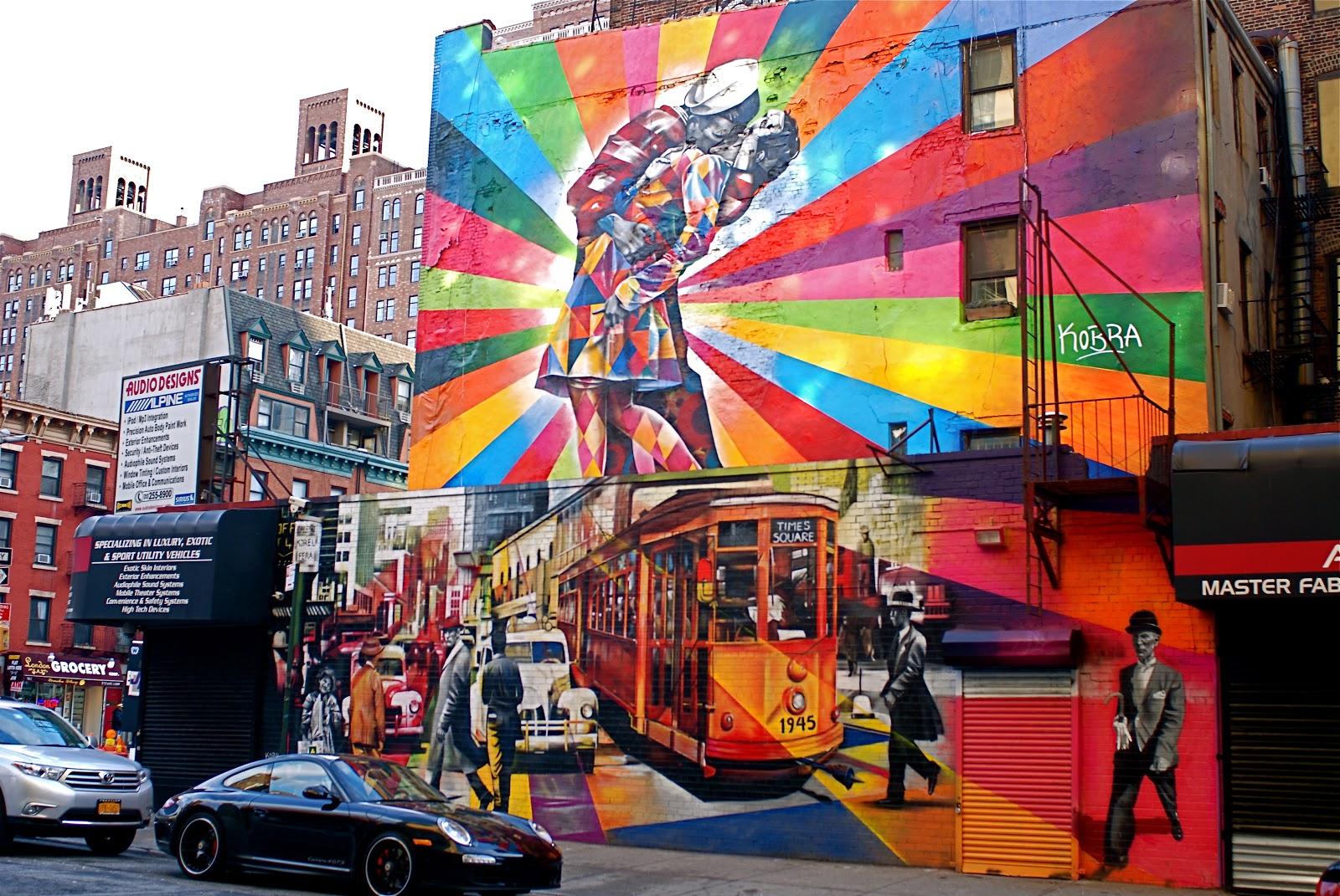 Foto Murales New York.Nyc Nyc Eduardo Kobra S Mural Of Alfred Eisenstaedt S