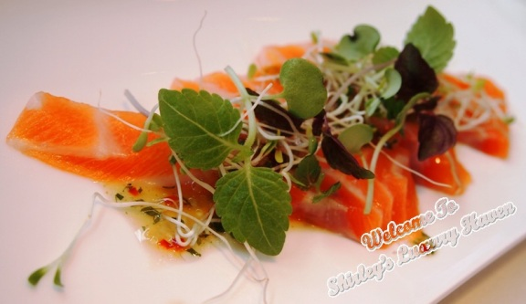 salmon sashimi recipe from hashi restaurant